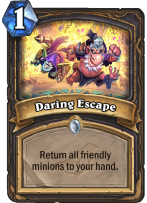 Daring Escape Card