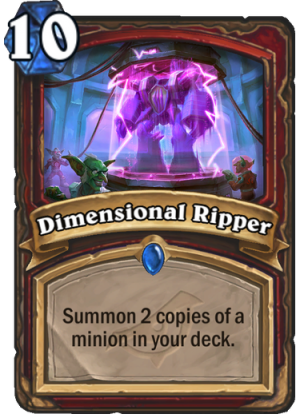 Dimensional Ripper Card