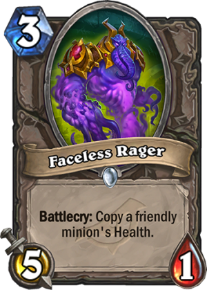 Faceless Rager Card