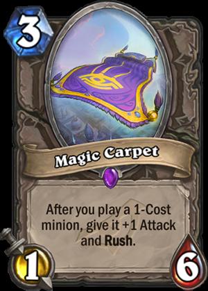 Magic Carpet Card