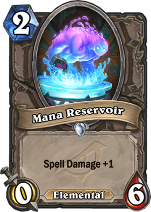 Mana Reservoir Card