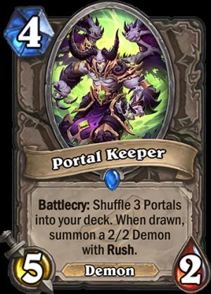 Portal Keeper Card