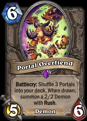 Portal Overfiend Card