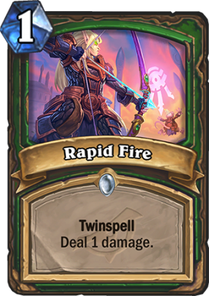 Rapid Fire Card