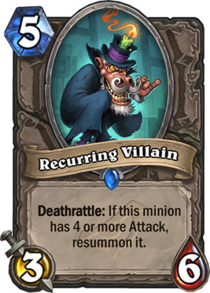 Recurring Villain Card