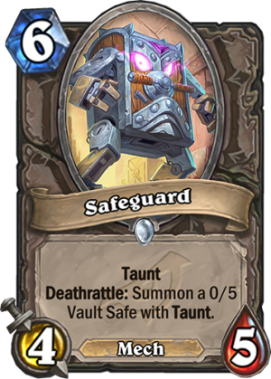 Safeguard Card