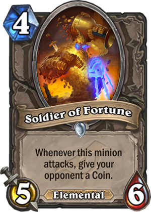Soldier of Fortune Card
