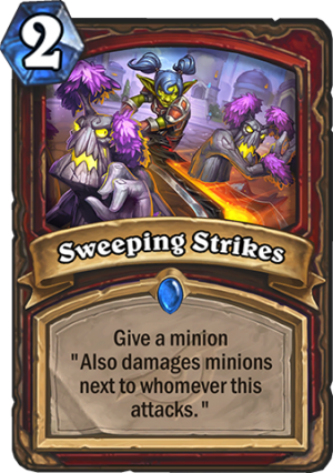 Sweeping Strikes Card