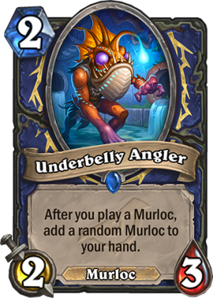 Underbelly Angler Card