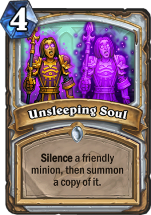 Unsleeping Soul Card