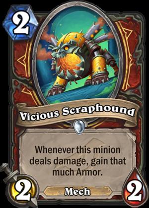 Vicious Scraphound Card