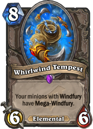 Whirlwind Tempest Card