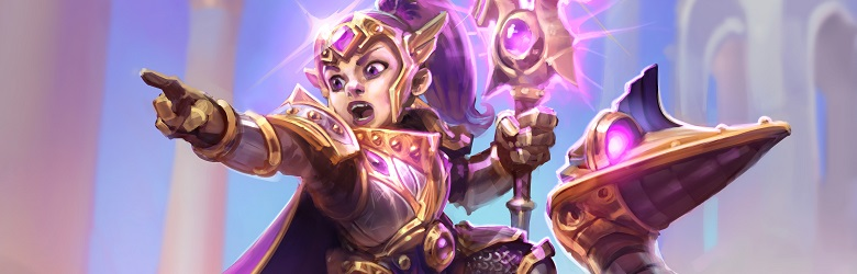 Aggro Secret Paladin Theorycraft Deck List - Rise of Shadows - April