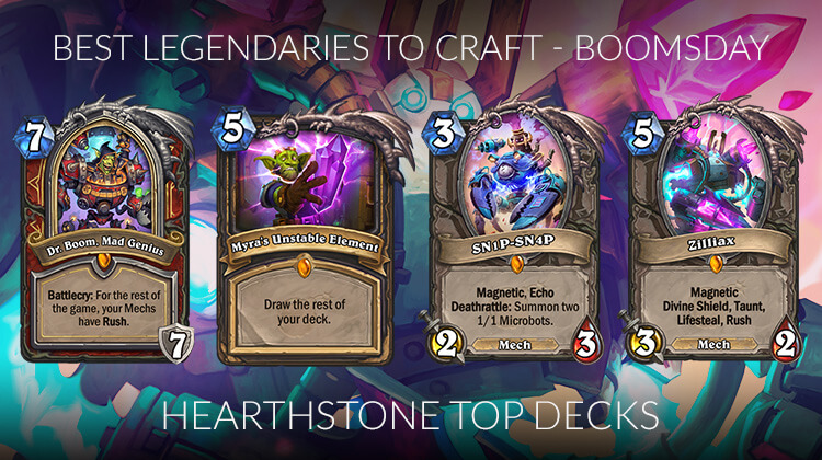 Hearthstone Legendary Crafting Guide (Standard) - Rise of Shadows