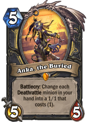 Anka, the Buried Card