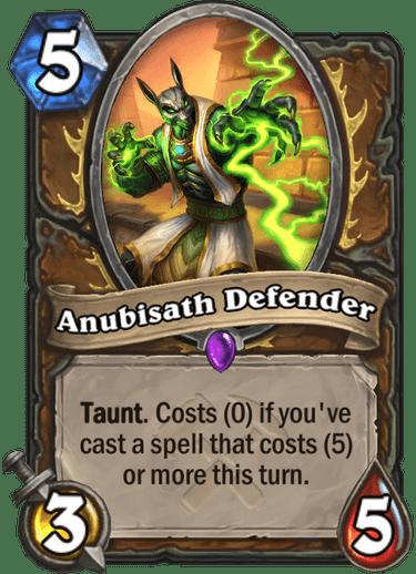 Kết quả hình ảnh cho anubisath defender hearthstone