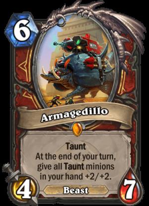 Armagedillo Card