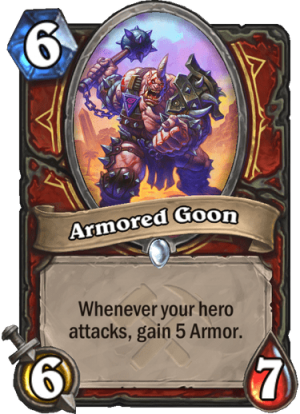 Armored Goon Card