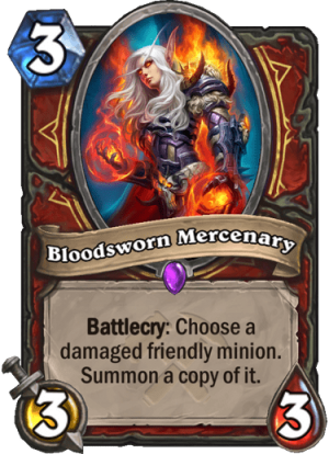 Bloodsworn Mercenary Card