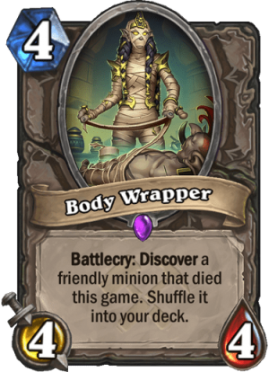 Body Wrapper Card