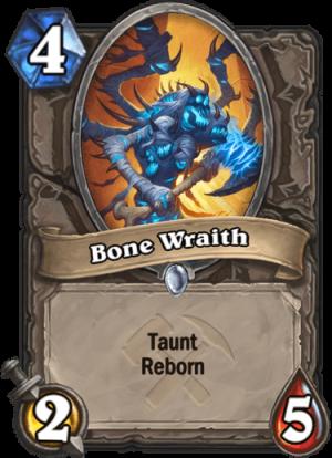 Bone Wraith Card