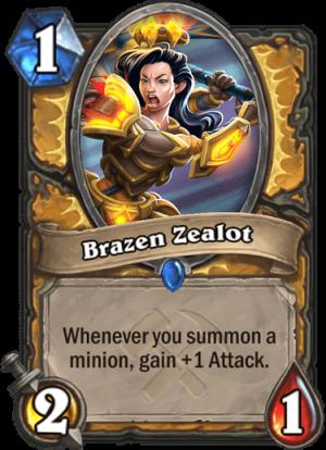 Brazen Zealot Card