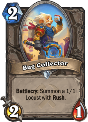 Bug Collector Card
