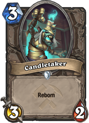 Candletaker Card