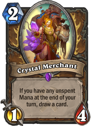 Crystal Merchant Card
