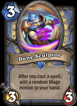 Dune Sculptor Card