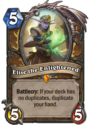 Elise the Enlightened Card