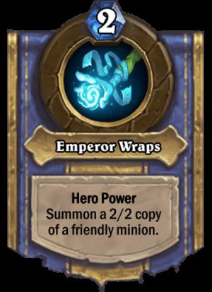 Emperor Wraps Card