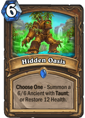 Hidden Oasis Card