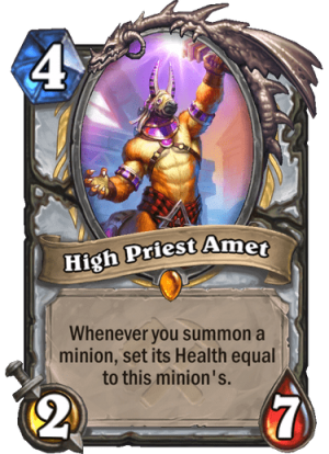 High Priest Amet Card
