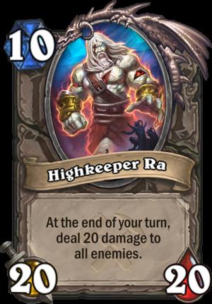 Highkeeper Ra Card