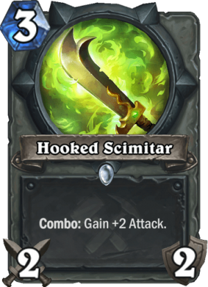 Hooked Scimitar Card