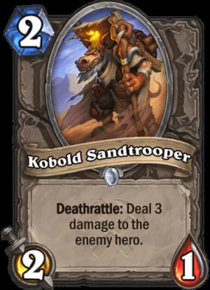 Kobold Sandtrooper Card