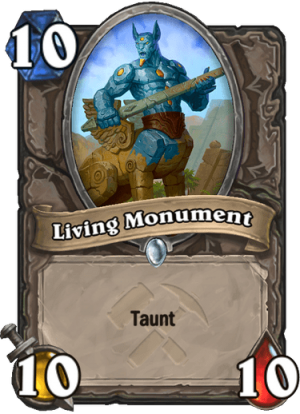 Living Monument Card