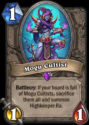 Mogu Cultist Card