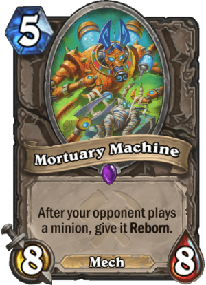 Mortuary Machine Card