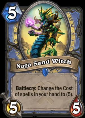 Naga Sand Witch Card