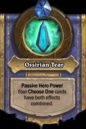 Ossirian Tear Card