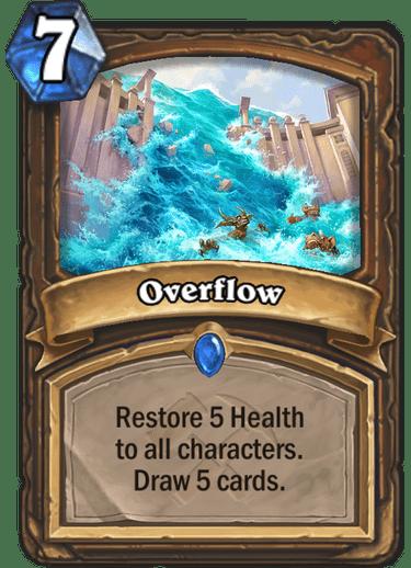 Kết quả hình ảnh cho overflow hearthstone