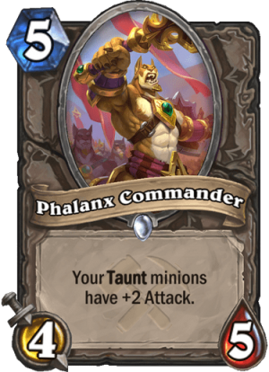Phalanx Commander Card