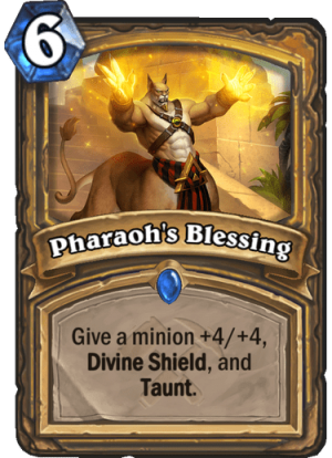Pharaoh's Blessing Card