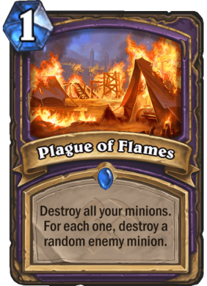 Plague of Flames Card