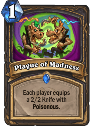 Plague of Madness Card