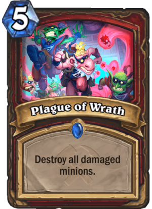 Plague of Wrath Card