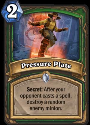 Pressure Plate Card
