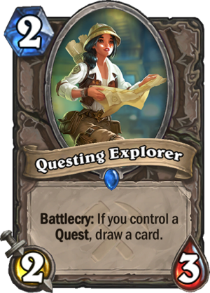 Questing Explorer Card